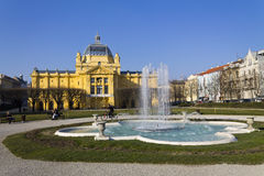 Place Zagreb de Tomislav Images stock