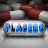 placebo royaltyfri illustrationer