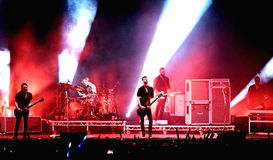 Placebo (band) live performance at Bime Festival Stock Photography