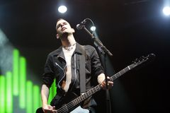 PLACEBO CONCERT Royalty Free Stock Photos