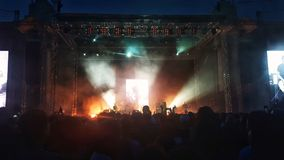 Placebo concert Stock Photo