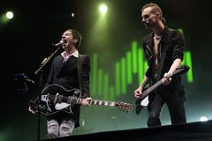 PLACEBO-KONZERT stockfoto