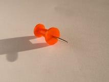 Placeholder barwiąca szpilka dla biurowego use Zdjęcia Stock
