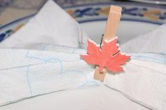 Placeholder w postaci kanadyjskiej flaga Obrazy Stock