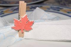 Placeholder w postaci kanadyjskiej flaga Fotografia Royalty Free