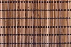 Placemat de bambú Fotografía de archivo