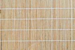 Placemat de bambu Imagens de Stock