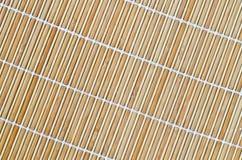 Placemat de bambu Imagem de Stock