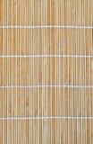 Placemat de bambu Imagens de Stock Royalty Free