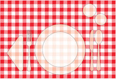 Placemat Royalty Free Stock Photo