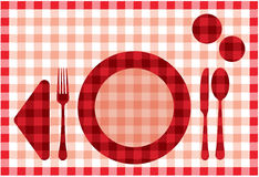Placemat Royalty Free Stock Photos
