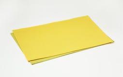 2 placemats прямоугольника Стоковое фото RF