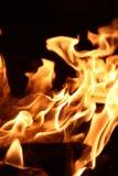 Placements brûlés images stock