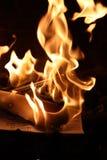 Placements brûlés photo stock