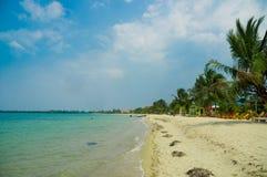 Placencia Belice de la playa foto de archivo libre de regalías
