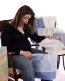 Placer de la ducha de bebé Fotografía de archivo libre de regalías