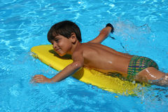 Placer en el agua Foto de archivo libre de regalías