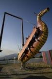 Placer Faire - paseo del renacimiento del dragón Imagenes de archivo