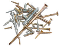 Placer of screws Stock Image