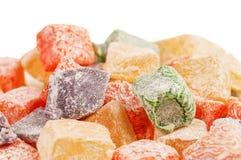 Placer turco dulce (lokum) Fotos de archivo