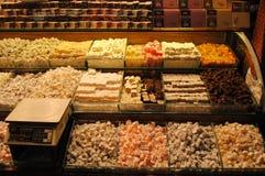 Placer turco en bazar Foto de archivo libre de regalías