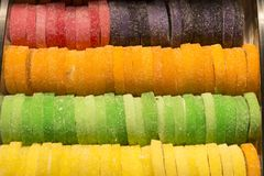 Placer turco y caramelos Fotos de archivo libres de regalías