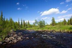 placera den wild floden Fotografering för Bildbyråer