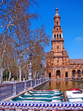placera seville spain fyrkantigt touristic _ spain Royaltyfri Foto