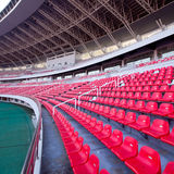 placera stadionen Royaltyfria Foton