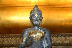 Placerad buddha bild Arkivbild