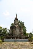 Placerad staty Royaltyfri Bild