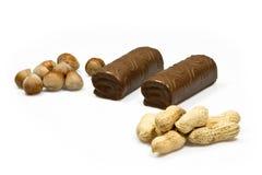 Placeres del cacao Foto de archivo libre de regalías