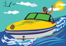 Placeres del verano ilustración del vector