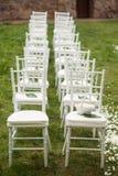 Placering för att gifta sig gäster royaltyfri fotografi