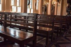 Placering i kyrkan, Thailand Royaltyfria Foton
