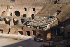 Placering på colosseumen Fotografering för Bildbyråer
