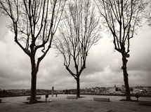 Places de la ville de Porto portugal photographie stock