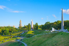 Places of interest in Kiev, Ukraine Royalty Free Stock Photography