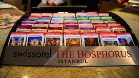 Places of Interest Swissotel The Bosphorus  Royalty Free Stock Photo