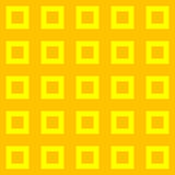 Places jaunes et oranges Images libres de droits