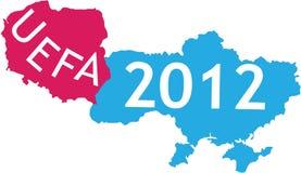 Places of UEFA 2012 Stock Photo