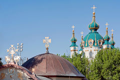 Places of worship in Kiev, Ukraine Royalty Free Stock Photography