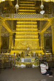 Places of worship and temple art of Thailand. Royalty Free Stock Image