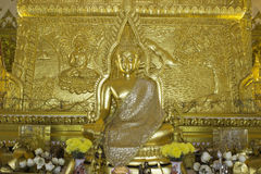 Places of worship and temple art of Thailand. Stock Photos