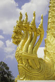 Places of worship and temple art of Thailand. Stock Images