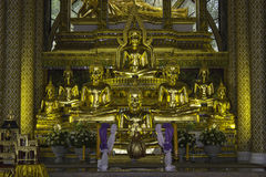 Places of worship and temple art of Thailand. Stock Photography