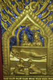Places of worship and temple art of Thailand. Stock Image