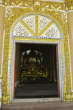 Places of worship and temple art of Thailand. Royalty Free Stock Photo