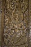 Places of worship and temple art of Thailand. Royalty Free Stock Photos