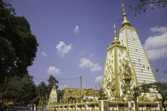 Places of worship and temple art of Thailand. Stock Photo